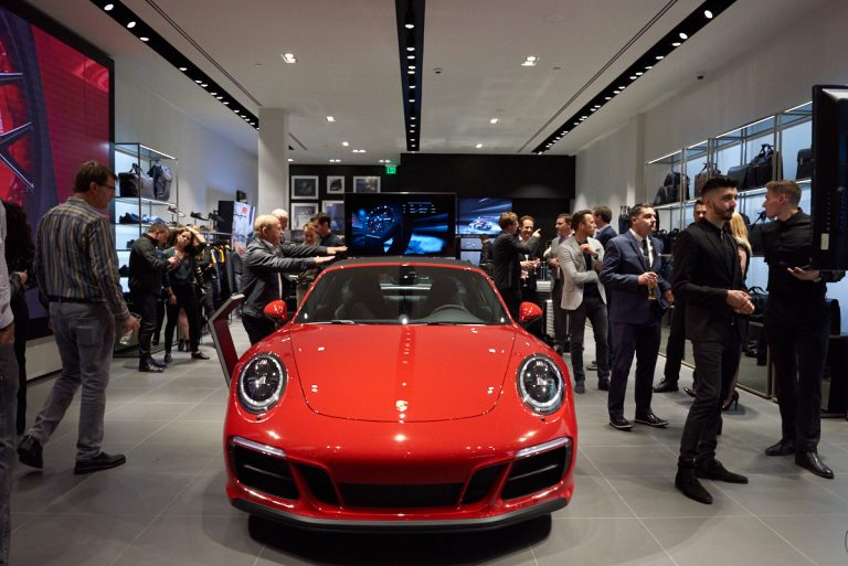 Five Facts About the New Porsche Design Store at South Coast Plaza