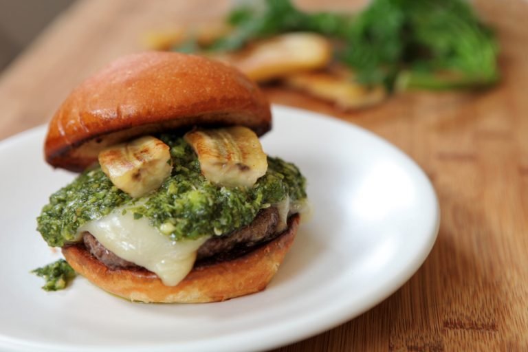 VIDEO: A Burger with a Colombian Twist from The Cut's Executive Chef Andres Dangond