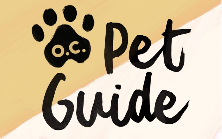 Our O.C. Pet Guide For All Things to Spoil Your Cuddly Companions