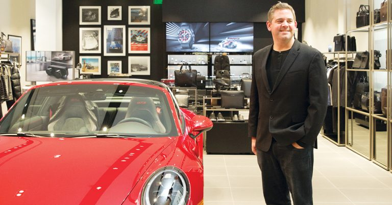You Don't Need a 911 to Enjoy the Magic of Porsche's New Store at South Coast Plaza