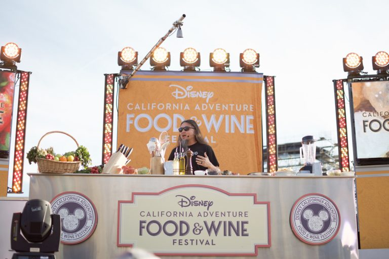 Wing Lam of Wahoo's Fish Taco Takes Part in DCA's Food and Wine Festival