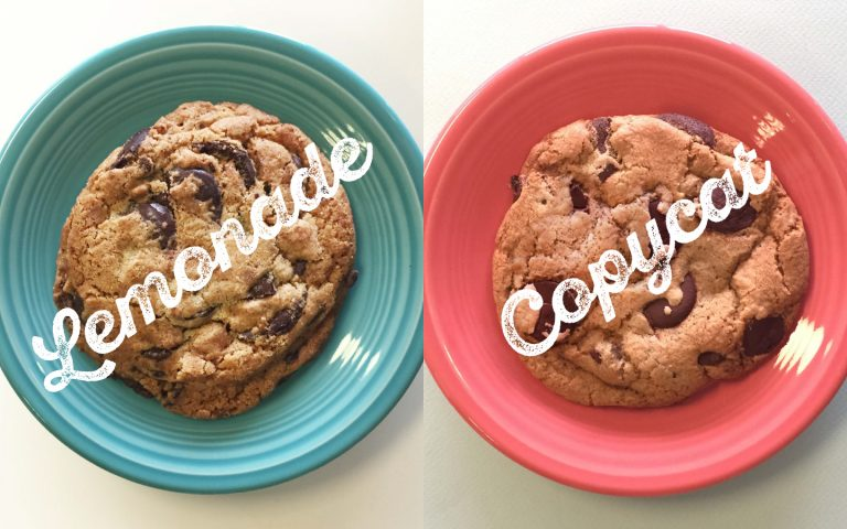We Made Our Own Version of Lemonade's Chocolate Chip Cookie