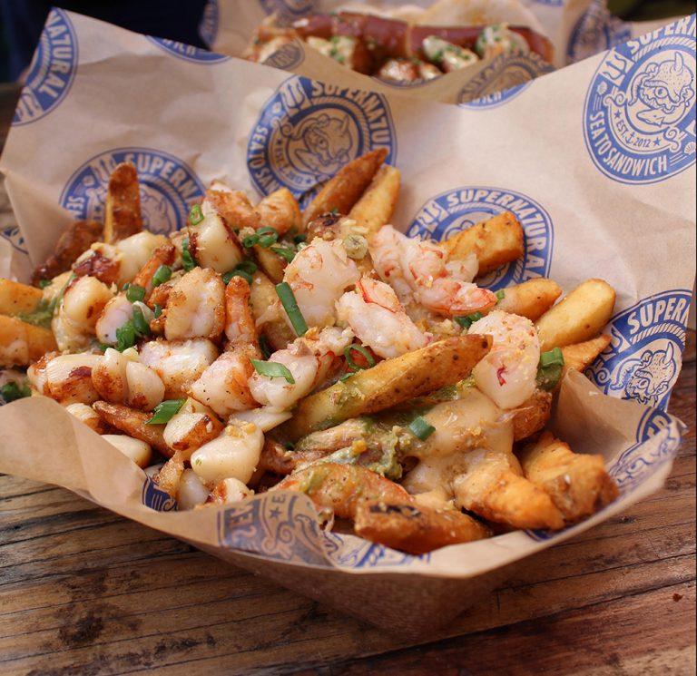 Asian-Fusion Seafood at Supernatural Sea to Sandwich in Santa Ana