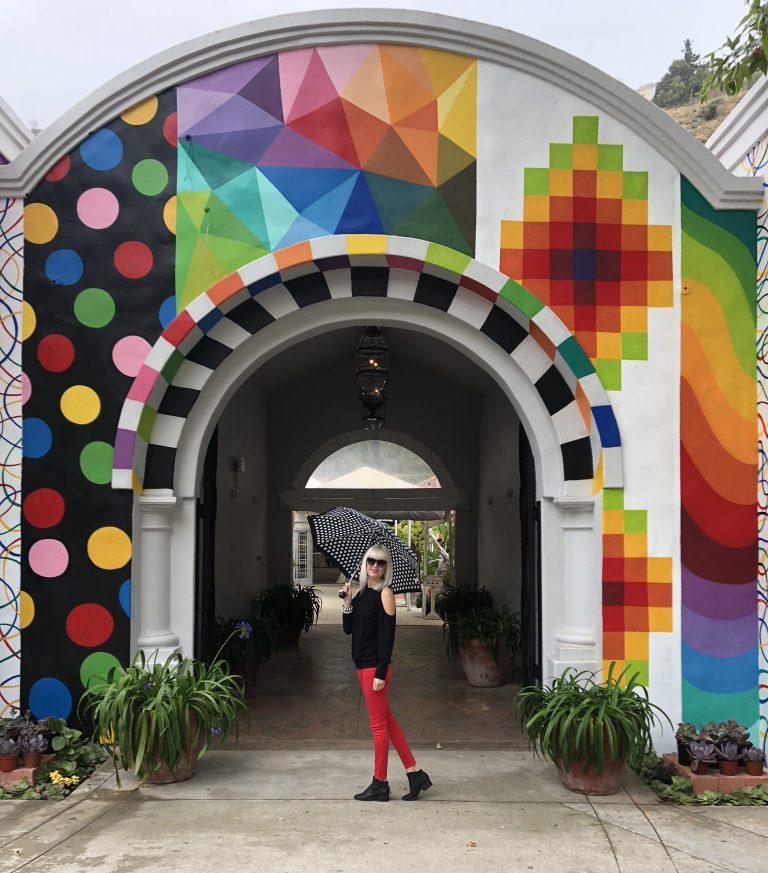 The Pop Surrealist Murals Gracing The Laguna Art-A-Fair Building