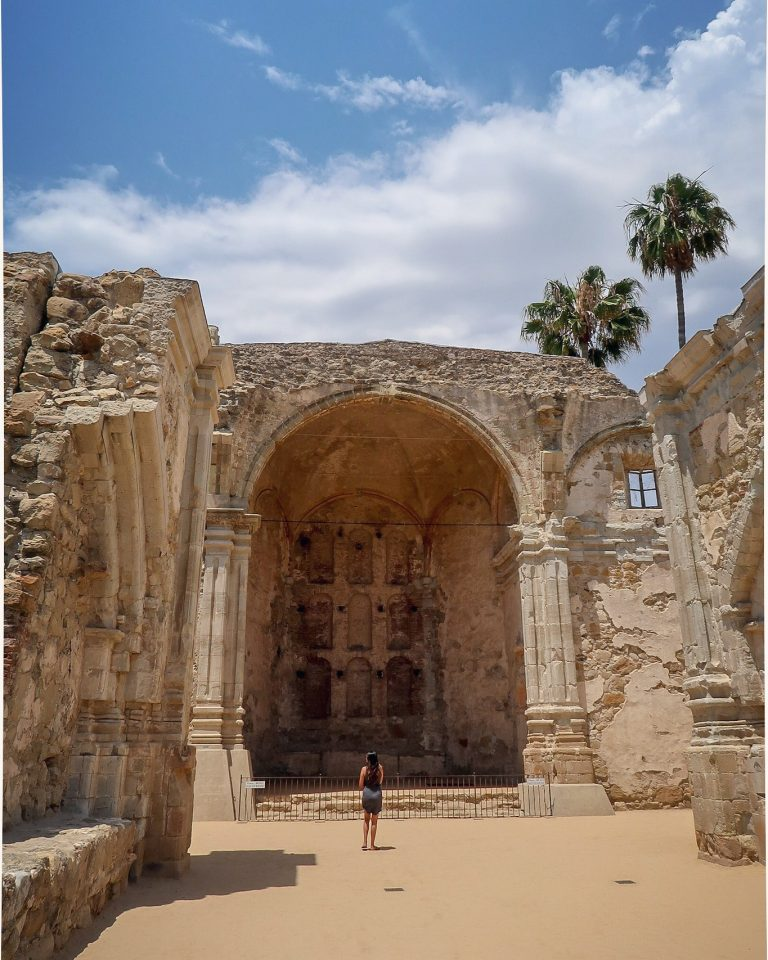 In Plain Sight: Ruins Of The Great Stone Church At Mission San Juan Capistrano