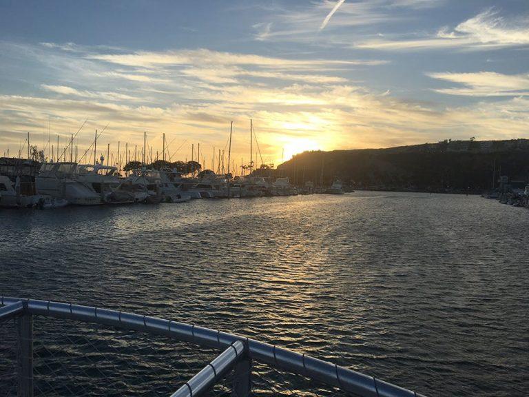 Toast the Autumn Sunset Aboard Dana Point's OC Wine Cruise
