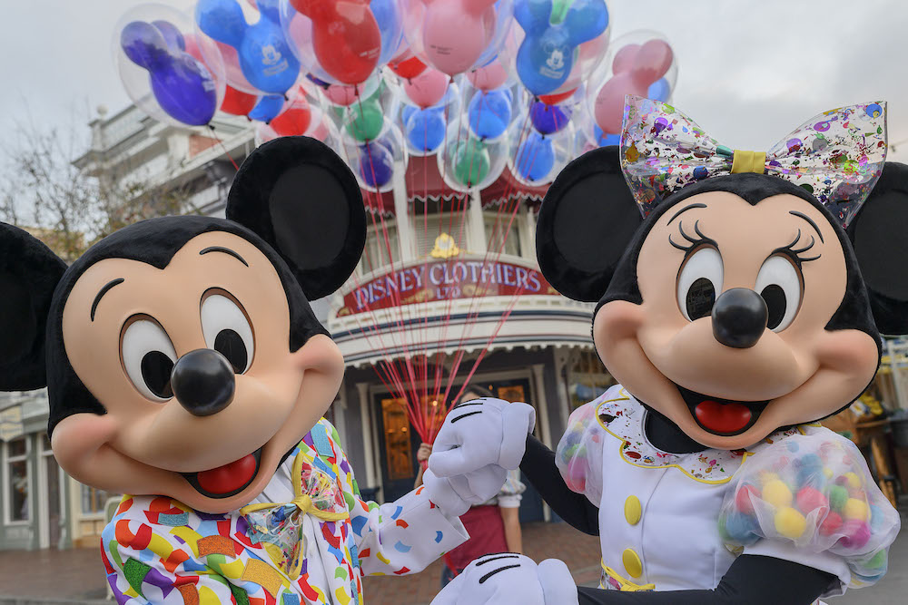 Get Your Ears On Disneyland Throws A Party For Mickey And Minnies