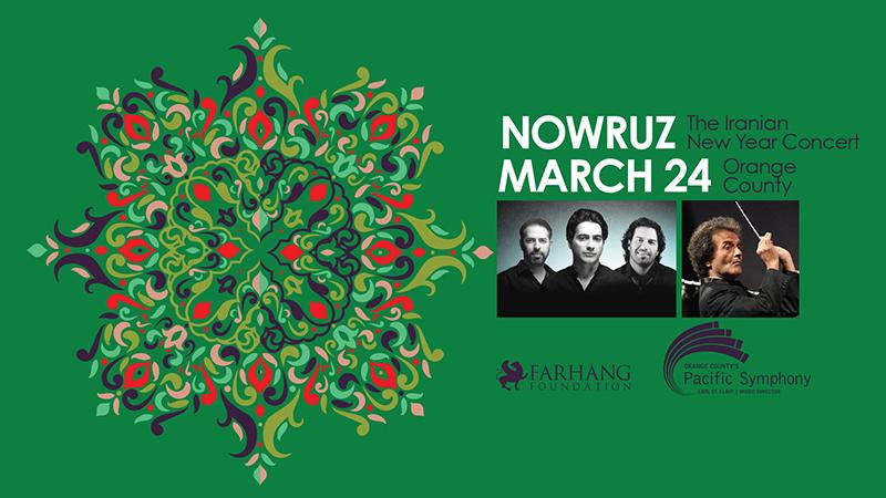 Nowruz Concert with Homayoun Shajarian & the Pournazeri