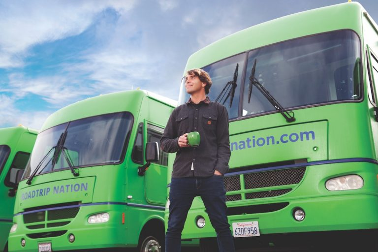 Co-Founder of Roadtrip Nation Takes Students on Cross-Country Trips