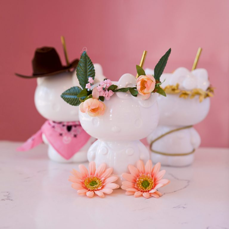 Hello Kitty Grand Cafe Unveils Spring Cocktails and Treats
