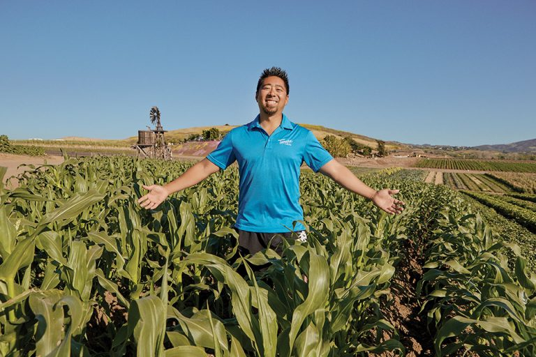 Plowing Ahead: A Q&A With Kenny Tanaka of Irvine's Tanaka Farms