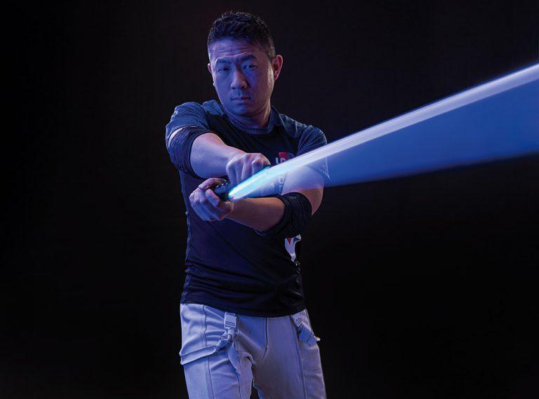 Tustin-Based Lightspeed Saber League Creates a Lightsaber Form of Fencing