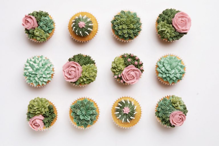 Made In Orange County: Floral and Succulent-Themed Pastries from Sweet Songbird Bakery
