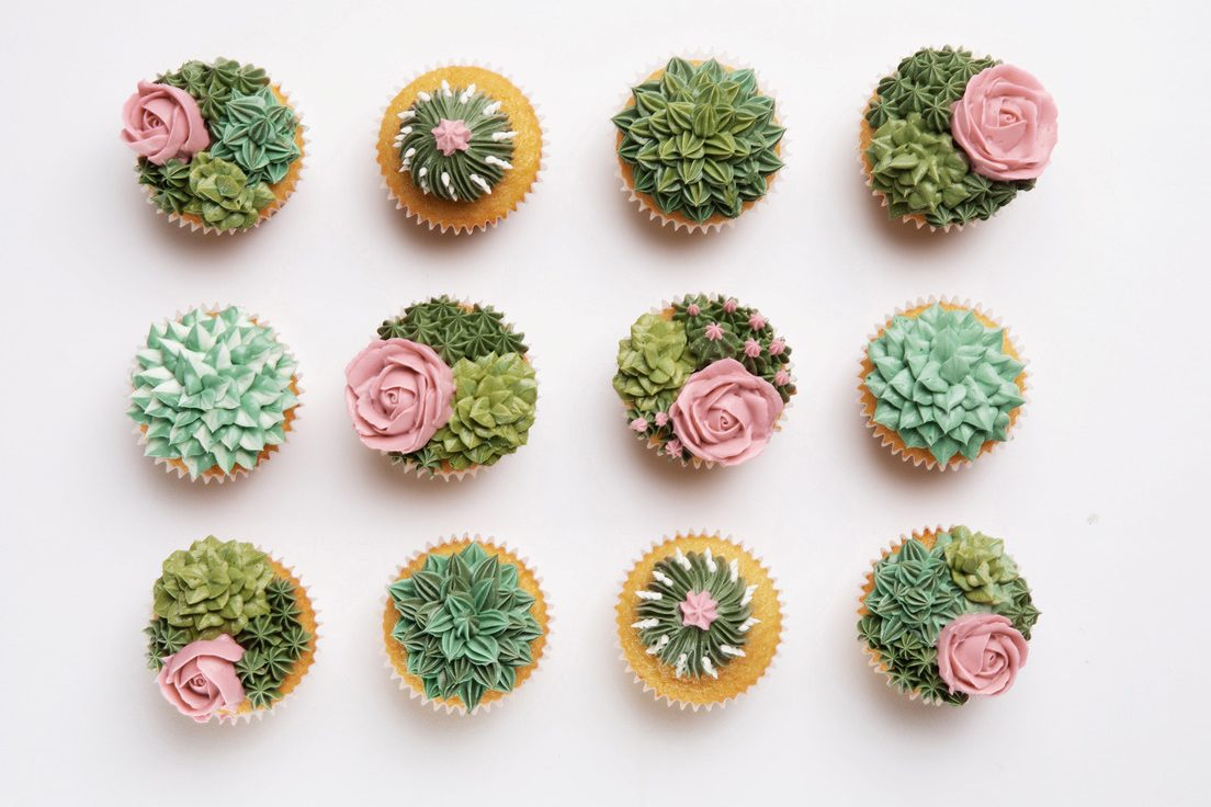 Made In Orange County Floral And Succulent Themed Pastries From Sweet Songbird Bakery