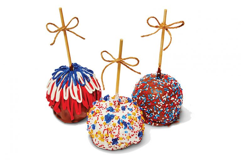 Made in Orange County: Chocolate-Covered Caramel Apples by Apples and Spice