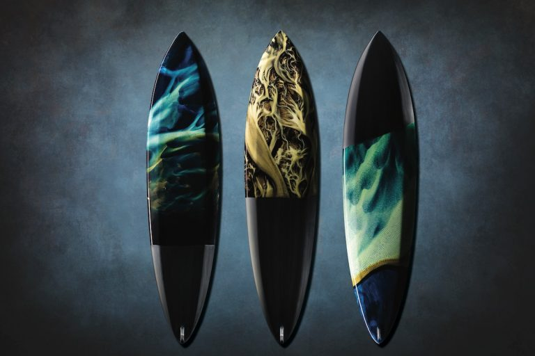 Surf Iceland with Boards Featuring Images from Abroad