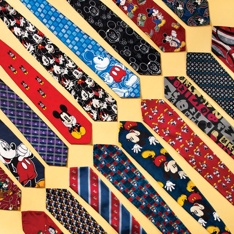 The Cal State Fullerton Marketing Lecturer With A Collection of More Than 187 Mickey Ties