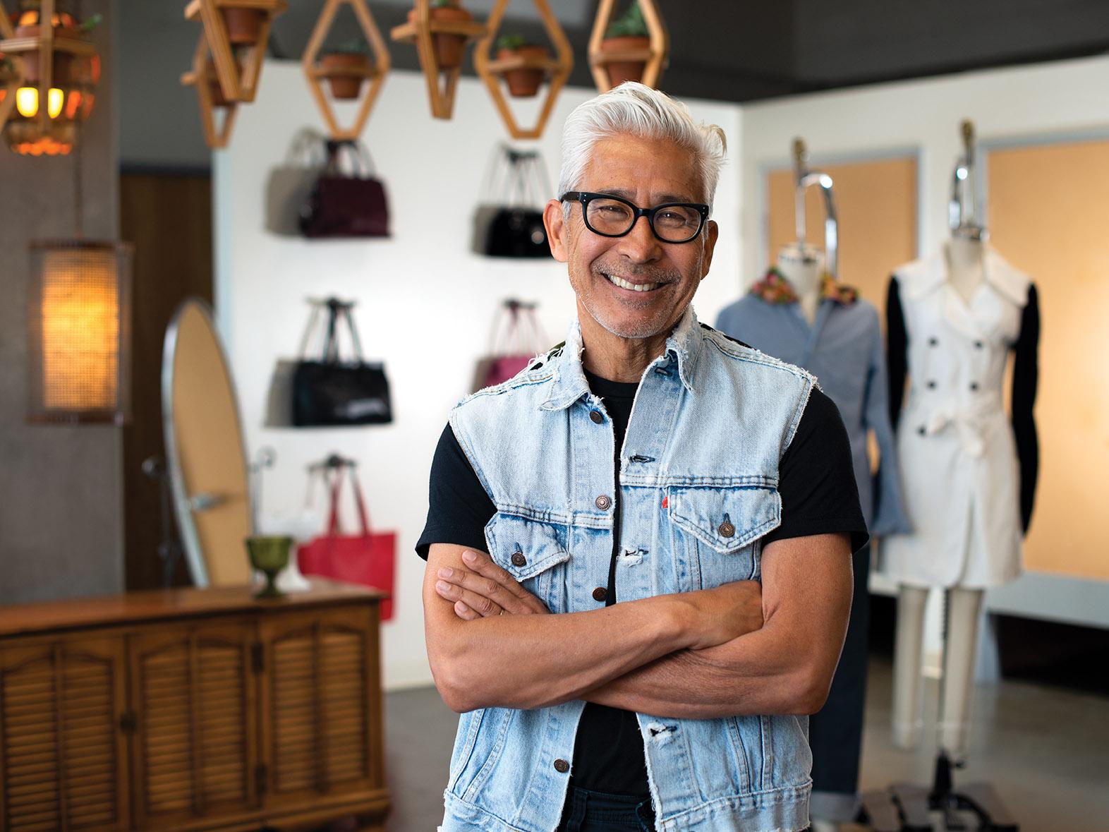 Designer Jeff 'Yoki' Yokoyama and Goodwill of O.C. Create A Sustainable Line