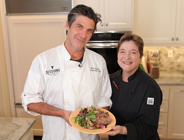Sessions Chef Max Schlutz Shares Recipe for Vietnamese-Style Steak Salad