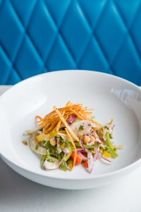A Breakdown of the Spanish Octopus Ceviche On Hendrix's Fall Menu