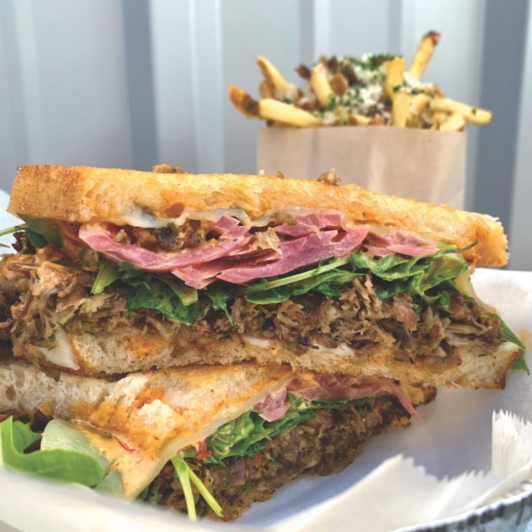 Duck is the Star in This Luxurious Sandwich at Popular Burger Spot