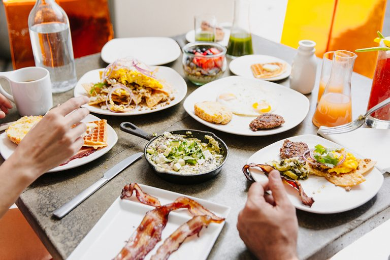 No longer reserved for weekends, brunch is fashionable every day of the week in Palm Springs