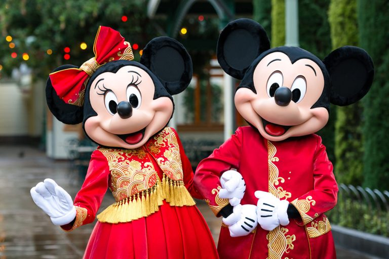 Renowned Designer Guo Pei Designs Mickey and Minnie's New Lunar New Year Costumes