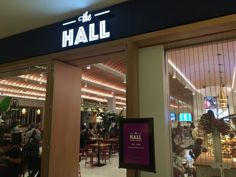 The Hall Global Eatery Opens at South Coast Plaza