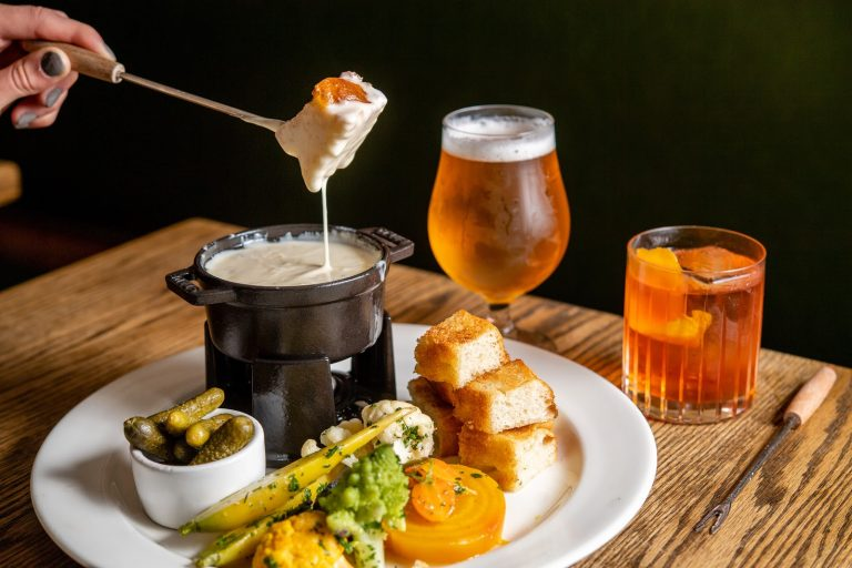 Food News: Fondue Tuesdays, Thin Mint Lattes, Fat-Washed Cocktails, And More