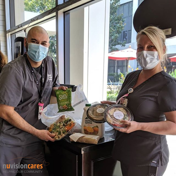 O.C. Steps Up: H.B. Credit Union Buys Lunch for Healthcare Workers