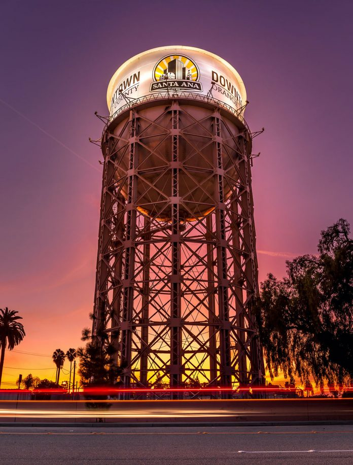 In Plain Sight: The Historic Santa Ana Water Tower