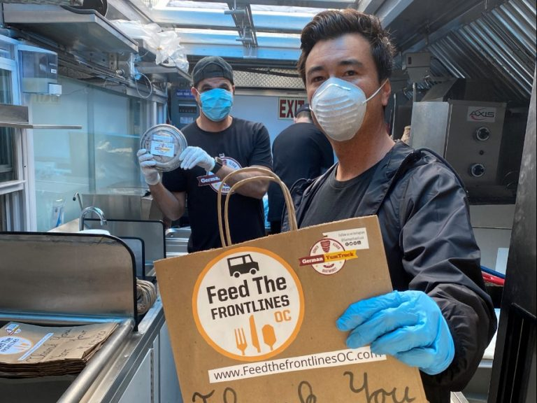 O.C. Steps Up: Sponsoring Free Meals For Healthcare Workers With Feed The Frontlines OC