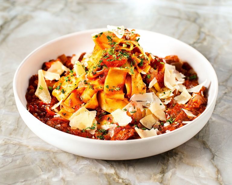 The Pork-and-Lamb Ragout Is a Must-Try Dish at Scarlet Kitchen & Lounge