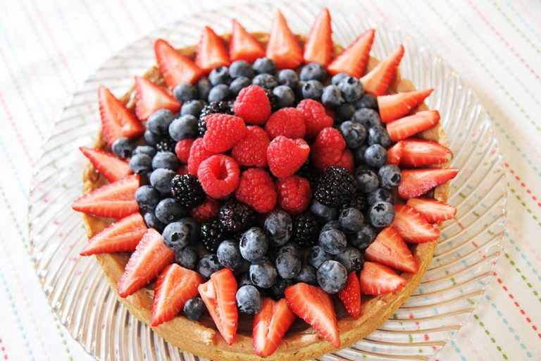 Pastry Chef at Craft House Miranda Bermejo Makes Earl Grey Fruit Tart for Mother's Day