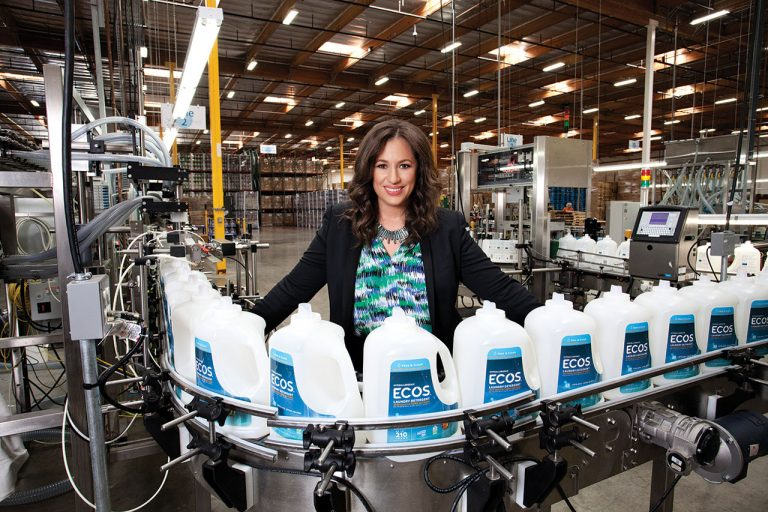 Kelly Vlahakis-Hanks is CEO of Earth Friendly Products in Cypress