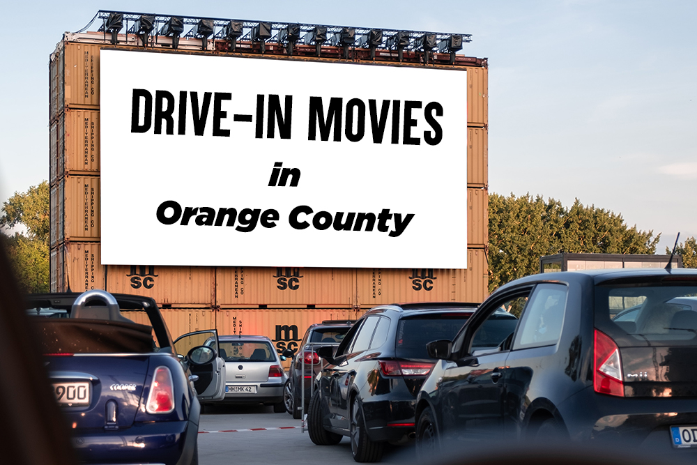 Drive In Movie Events Happening In Orange County