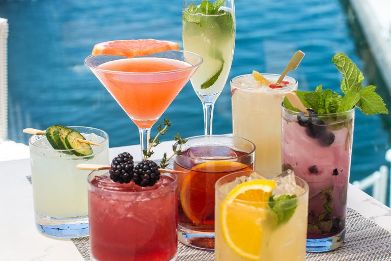 CHEERS to Waterfront Sips and Starters