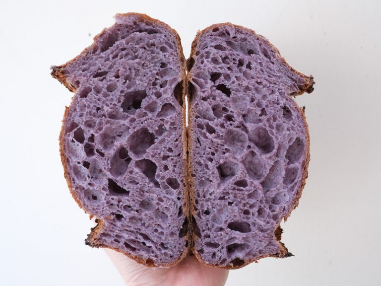 Insta-Hit: Blue Corn Polenta Sourdough from 61 Hundred Bread in San Juan Capistrano