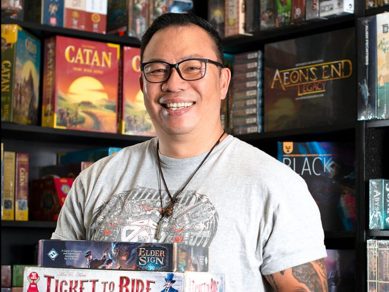 A Chat with the Owner of Dice House, a Board Game Store in Fullerton