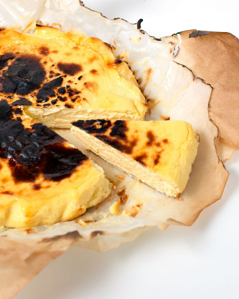 Uprising O.C.'s Signature Burnt Basque Cheesecake
