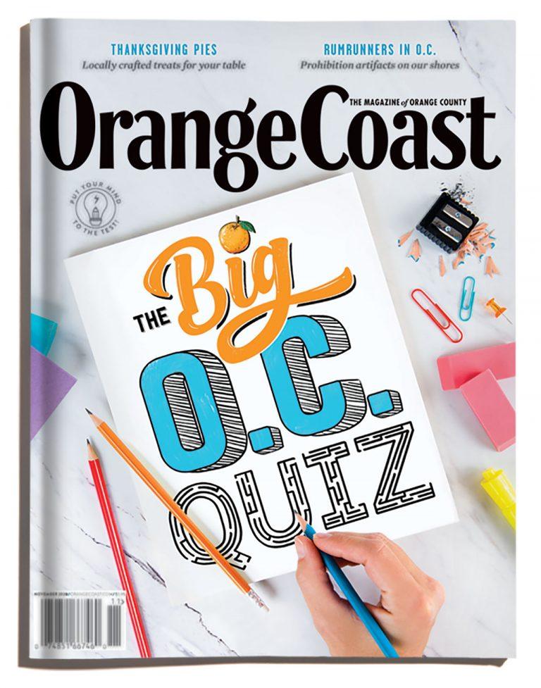 A Peek at The Big O.C. Quiz Issue | November 2020