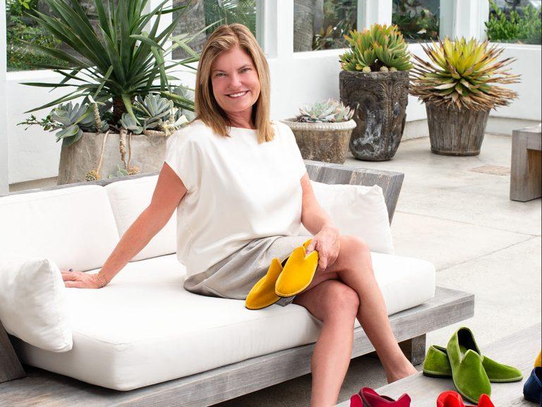 Costa Mesa Resident Kim Fox is the Owner of Fifi Venezia, an Italian Shoe Line
