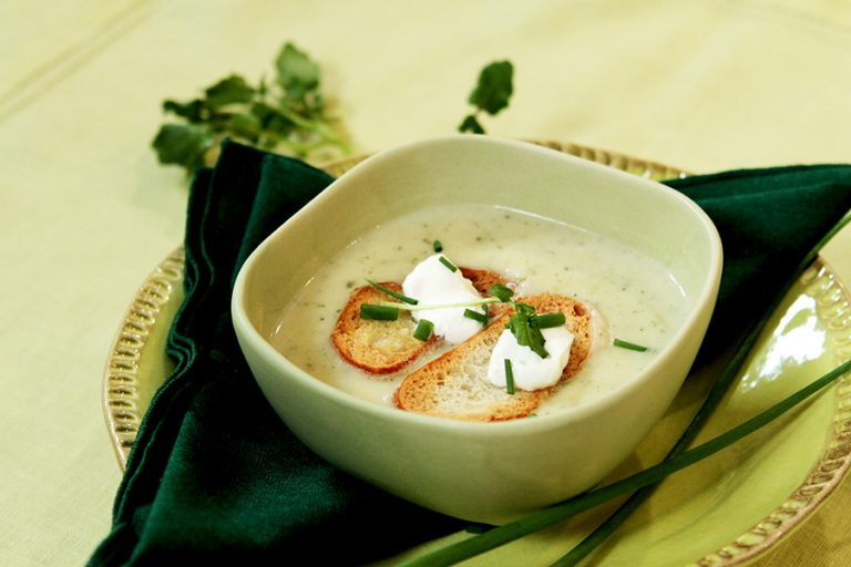 Cream of Watercress Soup: Memories of Julia Child and Her First Cookbook