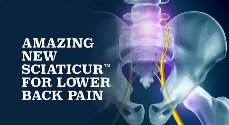 Amazing New Sciaticur™ For Lower Back Pain