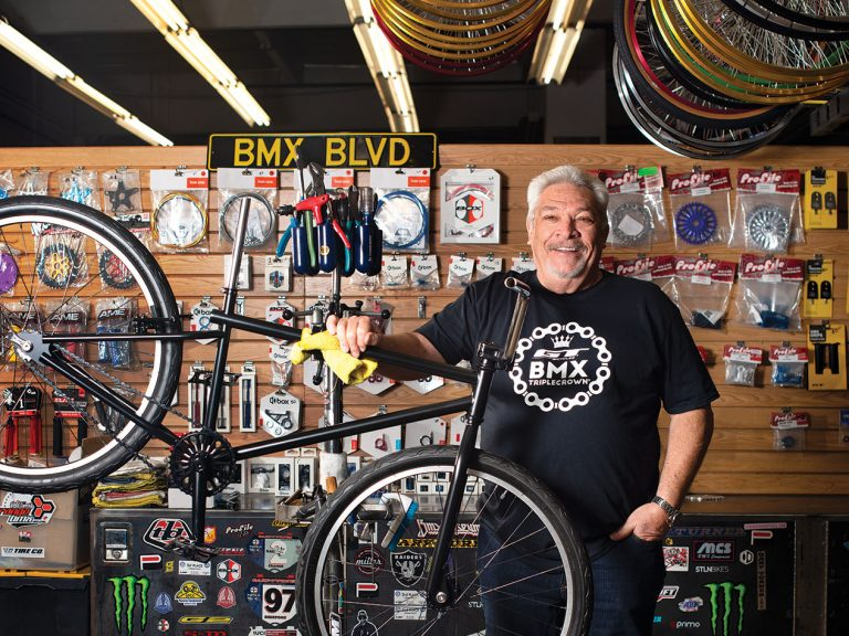 The Return of O.C.'s Gary Turner and His BMX Bikes