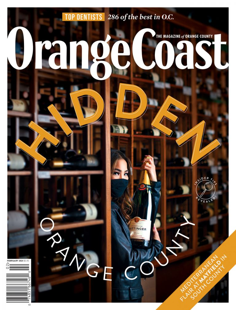 A Peek at Our Hidden Orange County Issue | February 2021