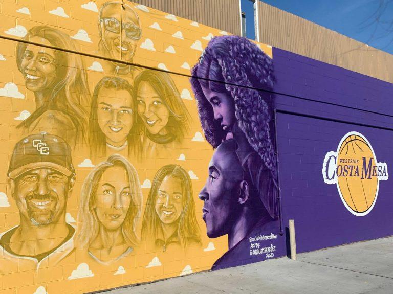 8 Kobe Bryant Murals in Orange County