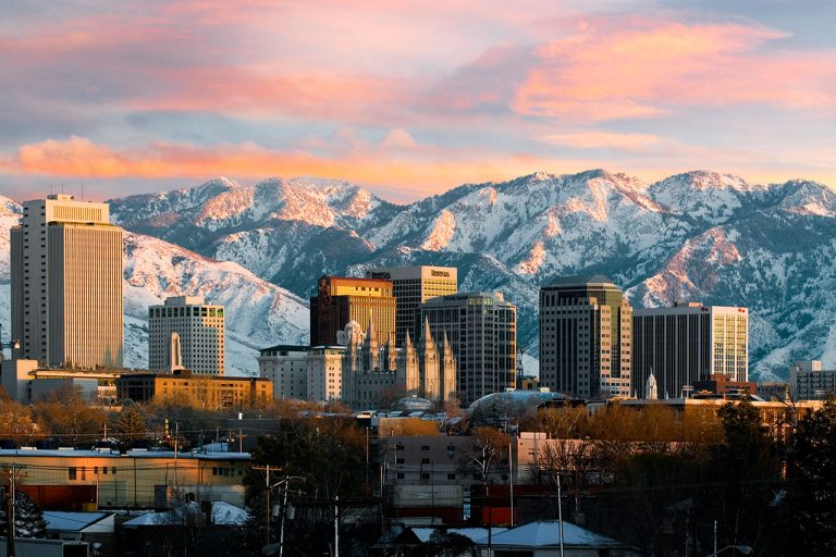Outdoors and Nightlife Merge in Salt Lake City