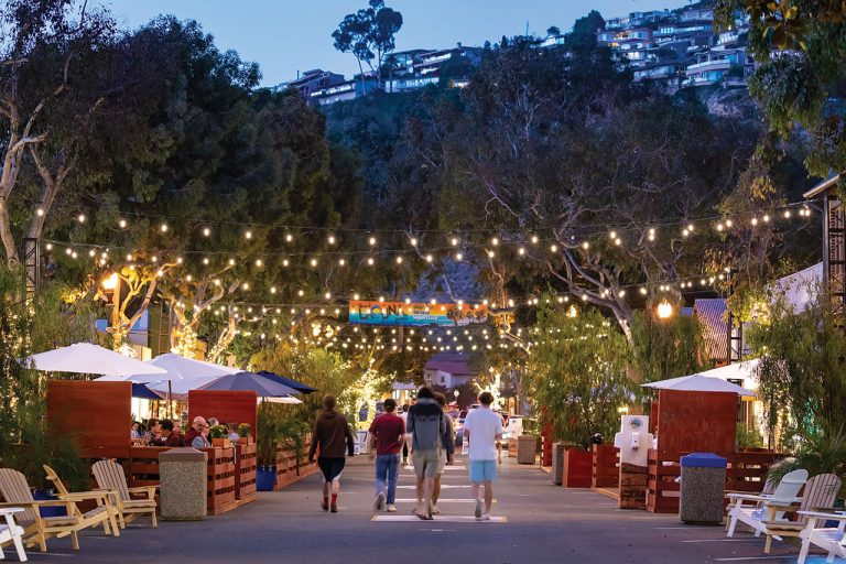 These O.C. Cities Closed Downtown Areas to Traffic for Outdoor Dining