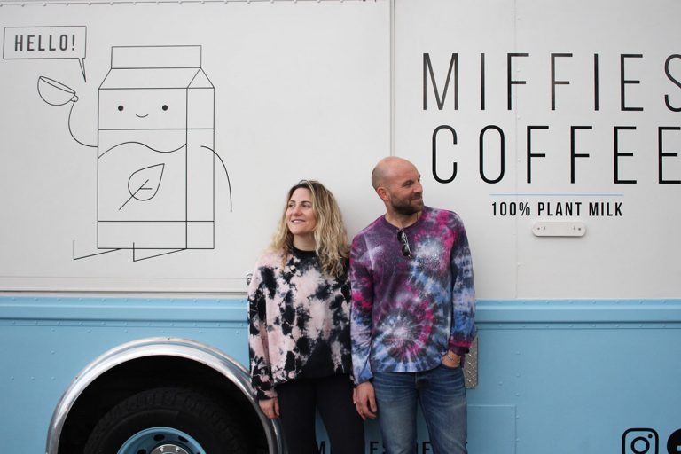 Miffies Coffee is O.C.'s First All-Vegan Mobile Cafe